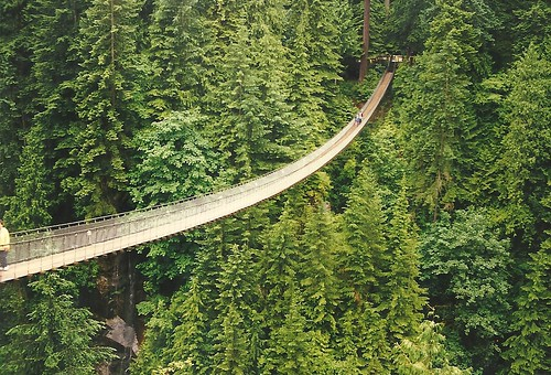 CAPILANO SUSPENSION BRIDGE-VANCOUVER