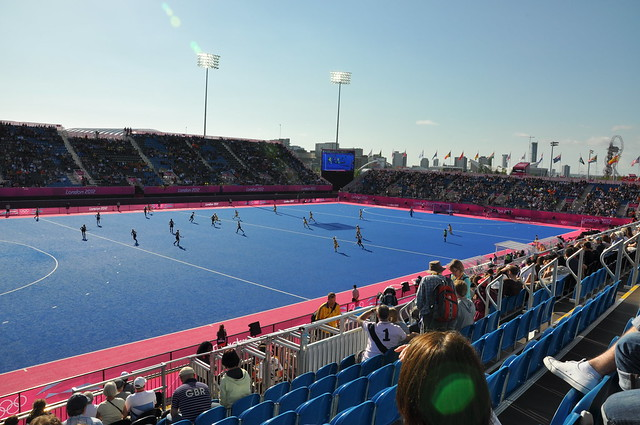 NZ vs Oz Women's Hockey at the Olympics!