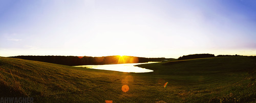 Panorama of The Sun Setting [07.29.12]