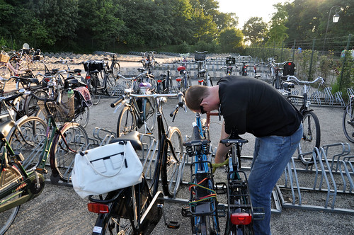 Bicycle parking at De Efteling