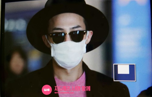 G-Dragon - Incheon Airport - 28jan2015 - With G-Dragon - 01