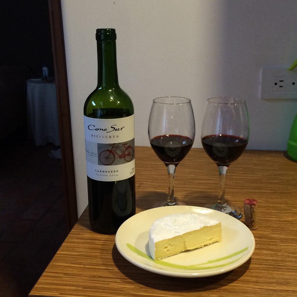 Carmenere and Camembert 1