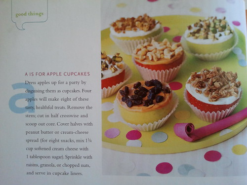 Muffin Tin Monday: Apple Cupcakes from Martha Stewart Kids Magazine