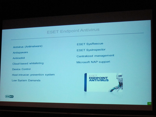 Features of ESET Endpoint Antivirus