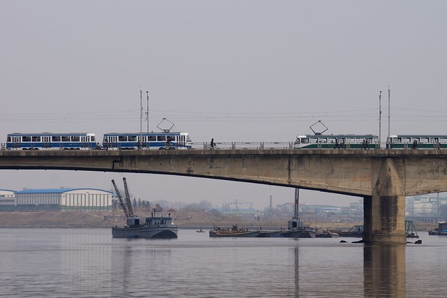 Taedong River, DPRK, North Korea