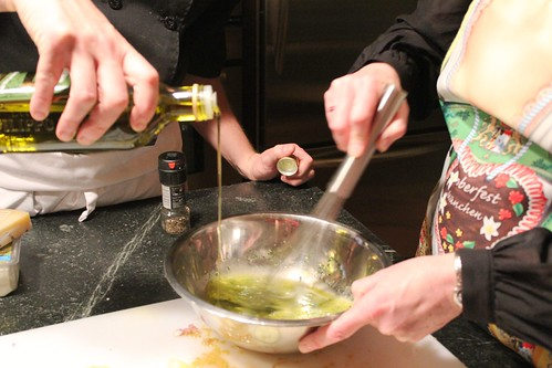 lemon vinaigrette action