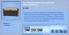 The Original Griller Entertainment Series Barbeque