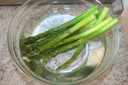 21 - Spargel abschrecken / Quench asparagus
