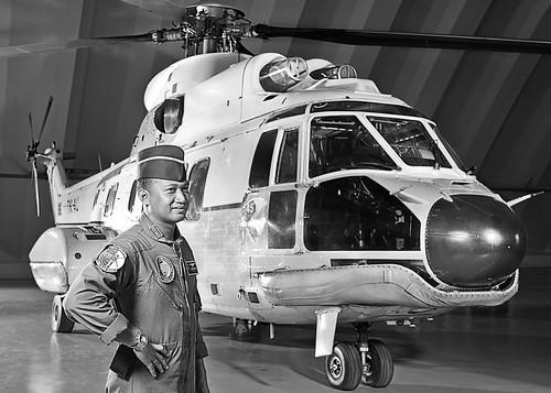 Dan Skadron Udara 45 Letkol Pnb Muzafar