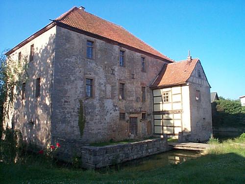 Wasserburg Schwickershausen14