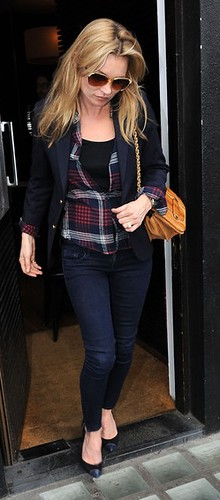 Kate Moss Skinny Jeans Celebrity Style Fashion
