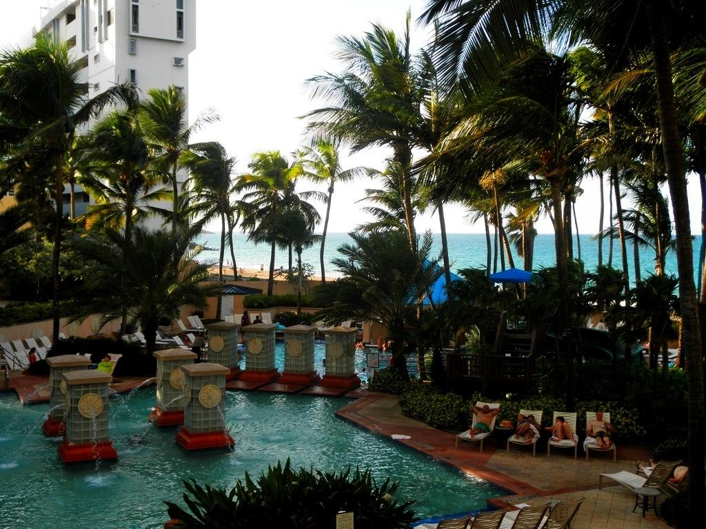 San Juan Marriott Pool