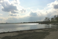 Sun on the Water at Lynch Park (Beverly, MA) by randubnick