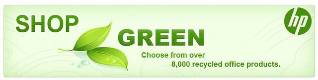 shop green banner
