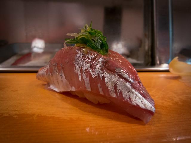 Saba Oshizushi (Pressed Horse Mackerel Sushi) Recipe by ...  Japanese Mackerel Sushi