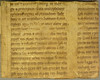 Portion of a parchment ms. leaf from a Vulgate Bible used as binder's wate by Penn Provenance Project