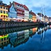 Blue hour at Nyhavn