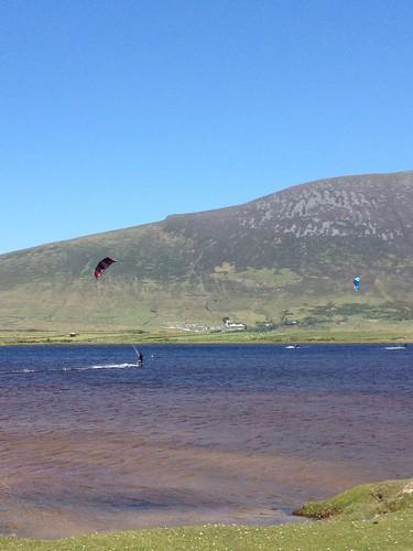 fresh water kitesurfing