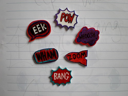 Shrinky Dink Pow After