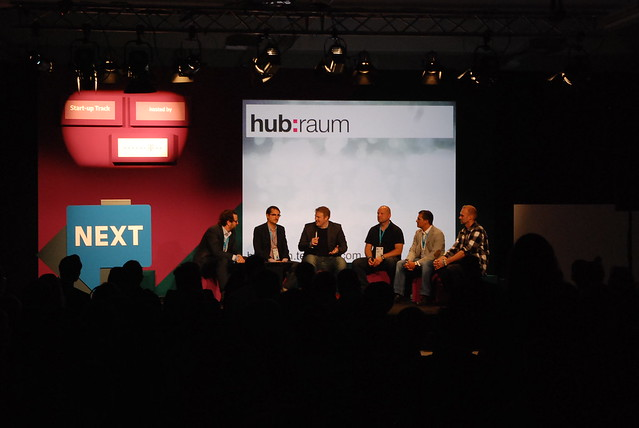 Startup Panel at #NEXT12