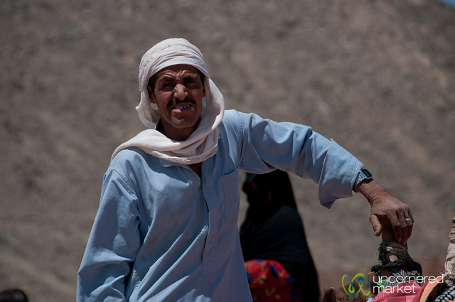 Bedouin Man with Camel - Hurghada, Egypt