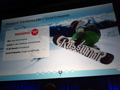 Rossignol From Salesforce Cloudforce Toronto