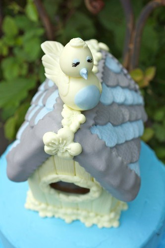 Birdhouse Birthday cake