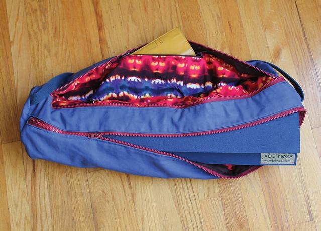 Diy I Am Zippered Yoga Mat Bag See How I Run
