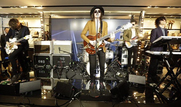 5 P - One Night Only perform at the Burberry Eyewear event in Paris0012