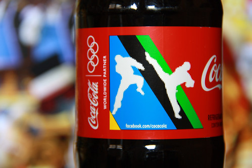 2012 London Olympics Karate 600 ml plant bottle Coca-Cola Brazil by roitberg