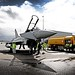 Typhoon is Refuelled at RAF Northolt During Exrcise Olympic Guardian
