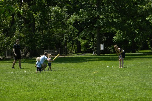 crashing the college wiffle ball game