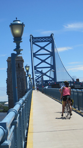 Ben Franklin Bridge Pedestrian Walkway