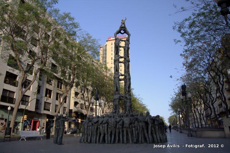 Rambla Nova. Tarragona. Catalunya