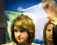 """Labour Party Deputy Leader and Director of Elections, Joan Burton today launched """"Vote YES for Stability"""", the party's animated video on the Stability Treaty"""
