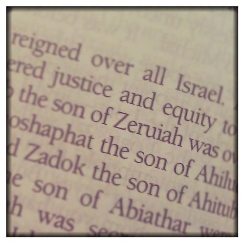Zeruiah