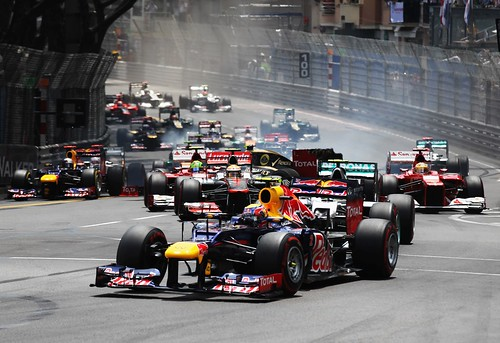 F1 GP de Mônaco 2012 - Largada