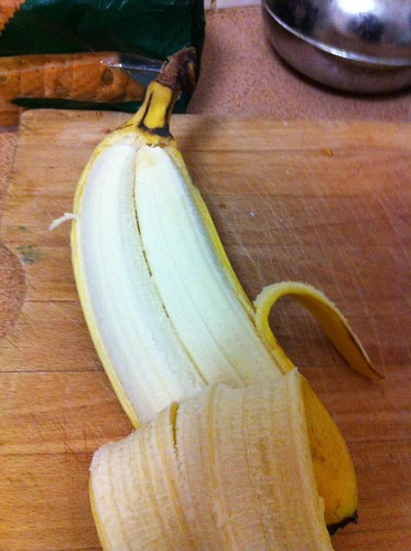 Inside the Siamese banana