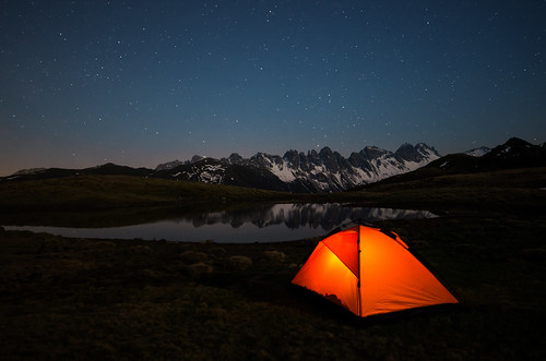 world travel blue sky orange mountain lake mountains alps nature night stars landscape geotagged austria see tirol österreich reisen europa europe long pentax nacht outdoor 14 natur himmel tent berge nighttime alpen walimex coordinates tyrol zelt position lat 2012 k5 sterne welt sellrain 14mm samyang kalkkögel traumlichtfabrik salfeins salfeinssee lakesalfeins