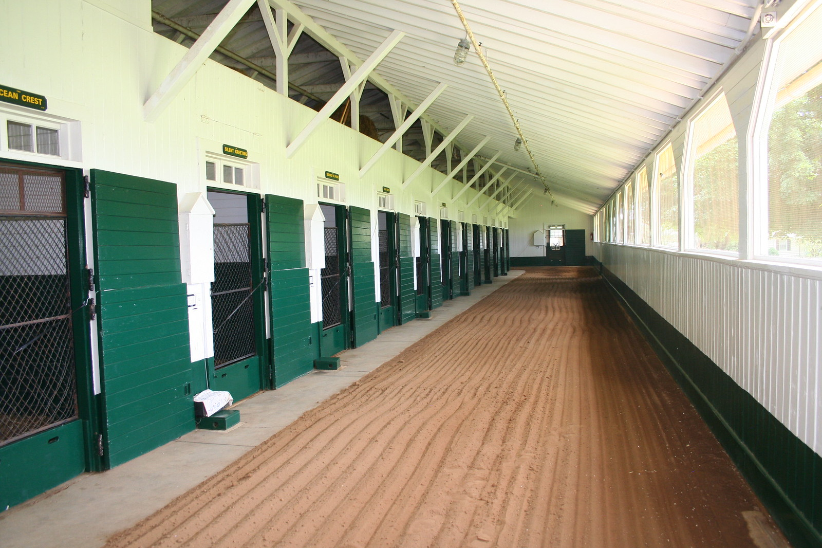 Stable Indoor This Indoor Stable With a
