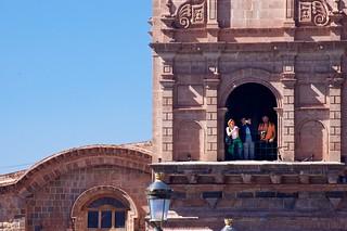 Tourists, Cuzco, Peru