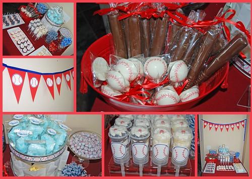Baseball Dessert Buffet