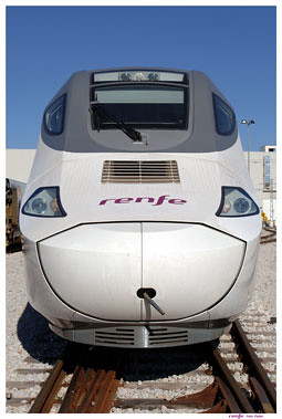 El nuevo tren que cubrirá la línea entre Bilbao y Madrid.