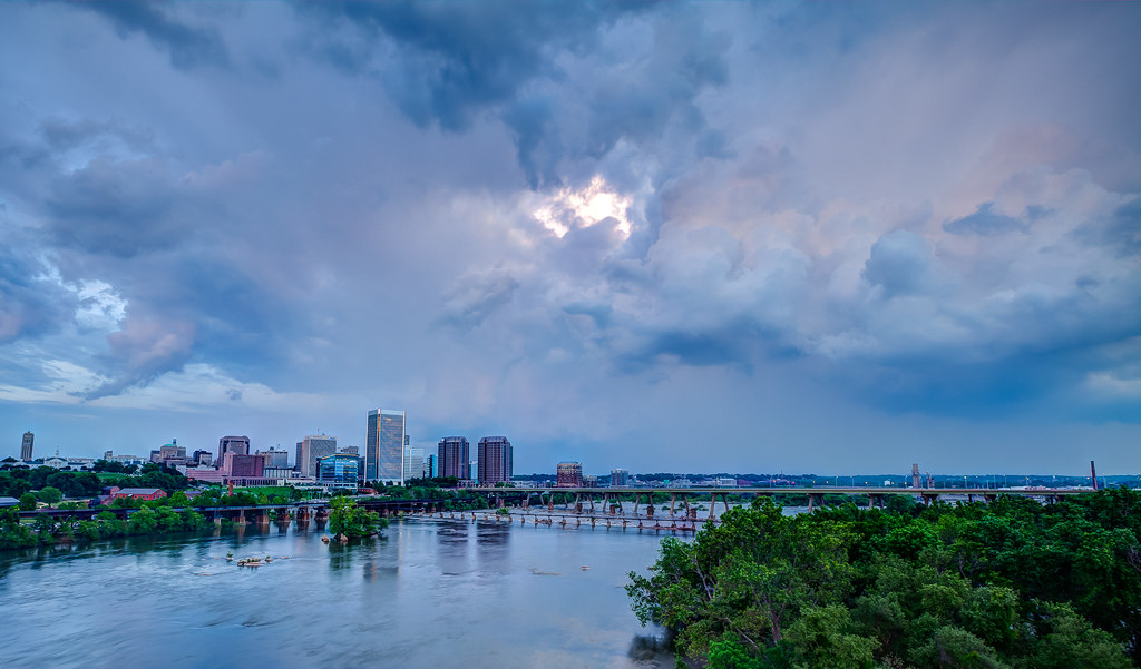 Richmond VA- Right Before the Storm