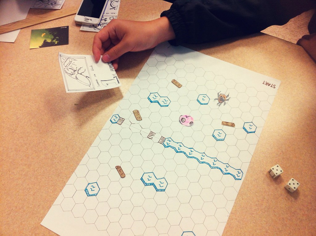 Ant-Lion Revised Game - Paper Prototype!