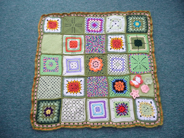 Thanks to everyone that contributed Squares for this blanket!