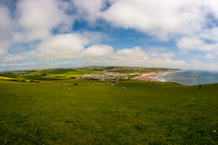 View of St Bees coast
