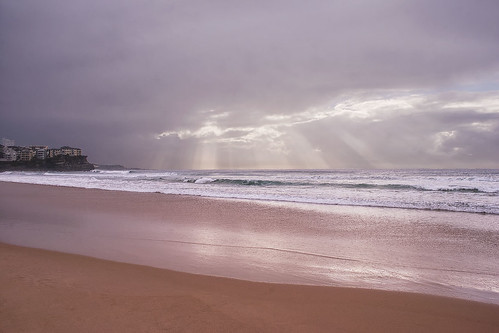 Sunbeams over Manly