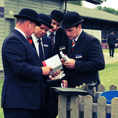 Bowlers, Suffolk Show, 7 June 2012 by dr_ed_needs_a_bicycle