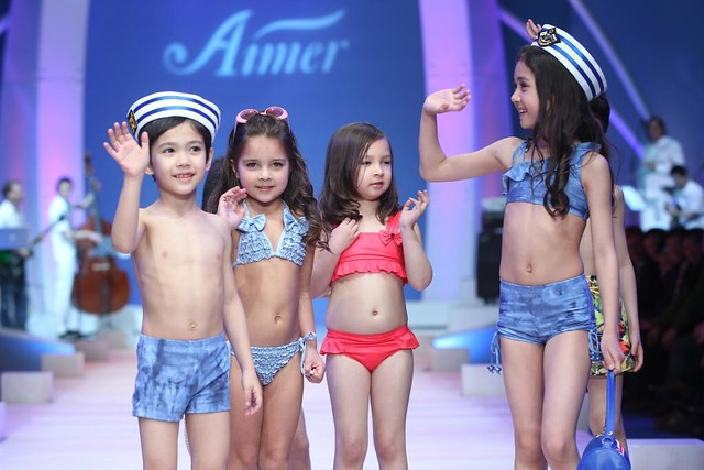 Kids Fashion Show Swimwear Super cute kids swimwear